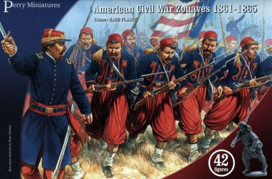 Perry Miniatures ACW70 American Civil War Zouaves (plastique)