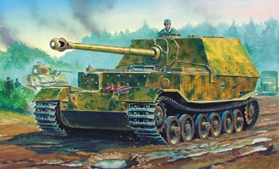"Trumpeter 07204 CHAR LOURD ""ELEPHANT"" ALLEMAND - 1944"