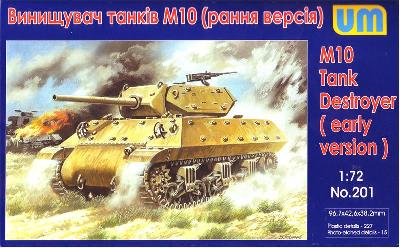 UM 201 US M-10 TANK DESTROYER (début de production)