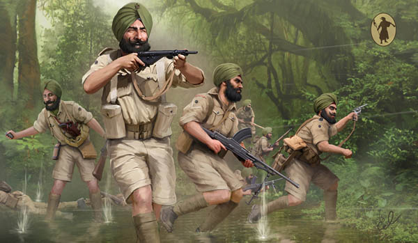 Strelets-R M119 Infanterie Indienne WWII