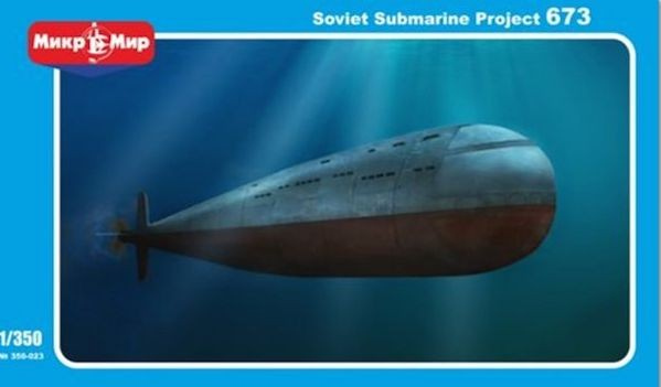Mikromir 350023 Soviet Submarine Project 673