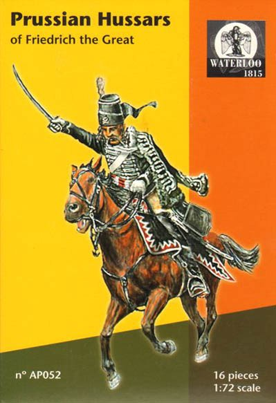WATERLOO AP052 Hussards Français de Frédéric le grand