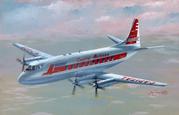 MACH II VICKERS VISCOUNT 700