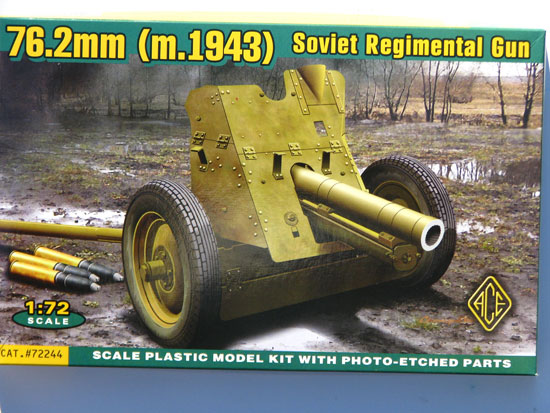 ACE 72244 Soviet 76mm Regimental Gun Mod.1943