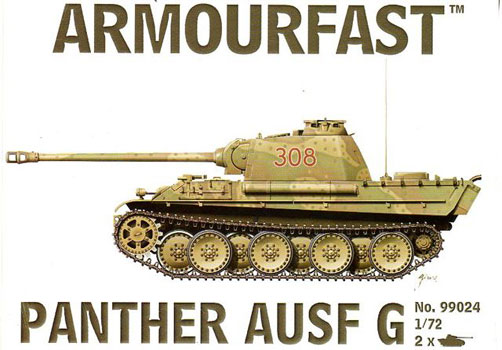 ARMOURFAST 99024  PANTHER AUSF G (2 chars)