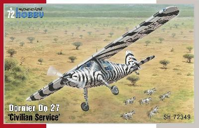 "SPECIAL HOBBY 72349 DORNIER Do27 ""SAFARI AFRICAIN"""