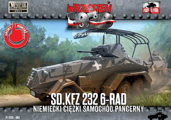 First to Fight 068 Sd.Kfz.232 6-Rad - German Heavy Armoured Car