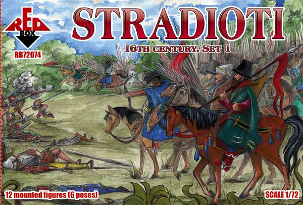 REDBOX 72074 Stradioti. 16th century. Set 1