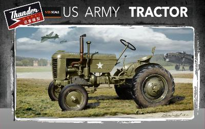 THUNDER MODEL 35001 US ARMY CASE TRACTOR 1944