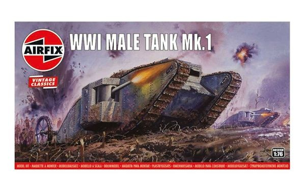 "Airfix 01315 WWI ""MALE "" Tank"