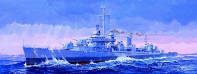 "TRUMPETER TR05304 DESTROYER US DD-537 USS ""THE SULLIVANS"""