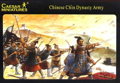 Caesar Miniatures CM004  ARMEE CHINOISE DYNASTIE DES CH'IN (200