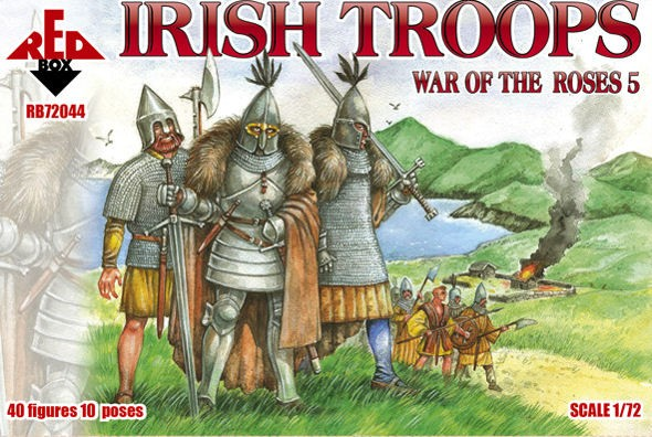 REDBOX 72044 Irish Troops guerre des Roses 5