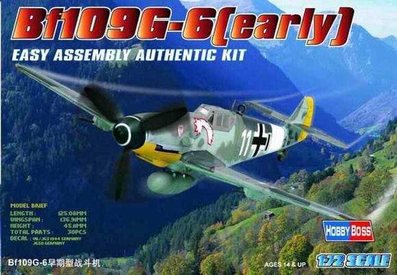 Hobby Boss 80225 BF 109G Early