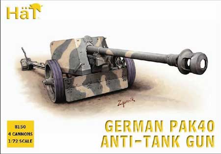 HAT 8150 German Pack 36 75mm ATGun