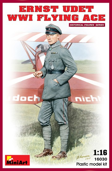 MINIART 16030 As Ernst Udet. WWI