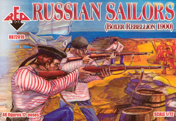 REDBOX 72019 Marins Russes (rebellion Boxer 1900)