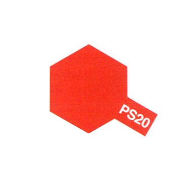Tamiya PS20 rouge fluo (bombe 100ml)