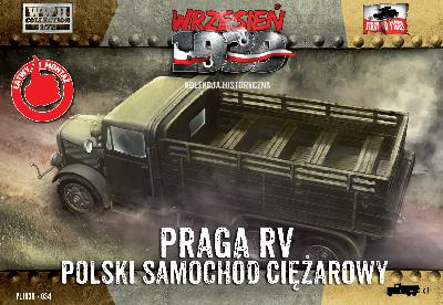 First to Fight 034 CAMION PRAGA RV - ARMEE POLONAISE 1939