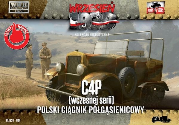 First to Fight 044 C4P Polish Artillery Tractor, Early production