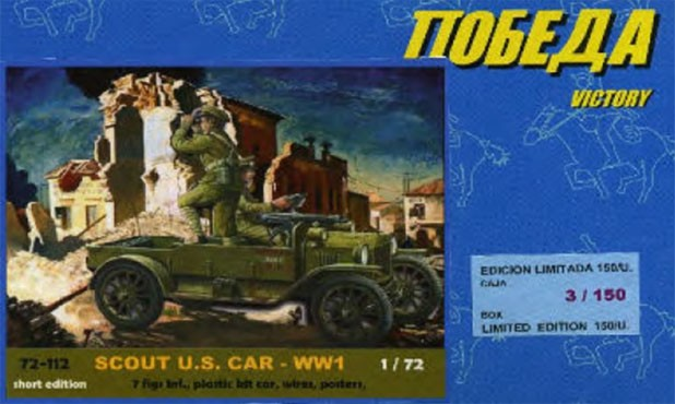 POBEDA 72112 Scout US Car WWI