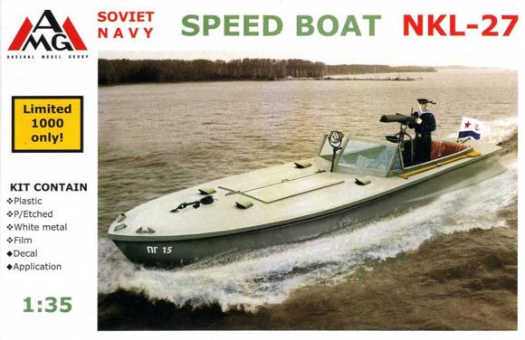 AMG 35402 Soviet Navy Speed Boat NKL-27