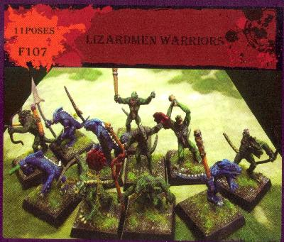 Caesar Miniatures CMF107 GUERRIERS HOMMES-LEZARDS