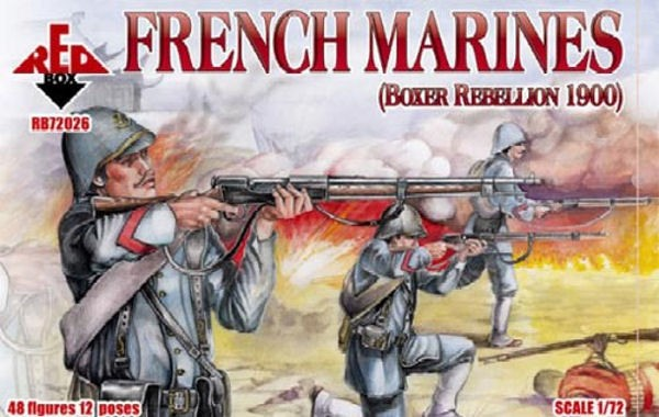 REDBOX 72026 French Marines Boxer Rebellion 1900