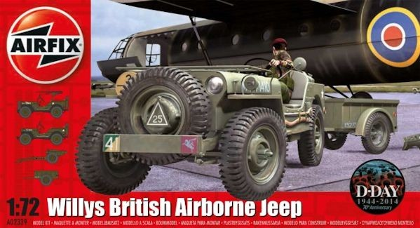 Airfix 02339 Willys British Airborne Jeep