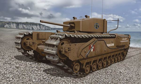 Dragon 7510 Churchill Mk.III Dieppe 1942