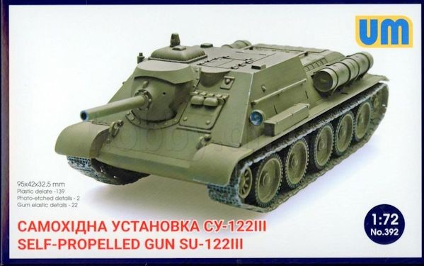 UM 392 Su-122-III self-propelled gun
