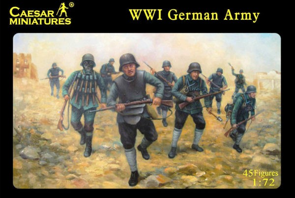 Caesar Miniatures CM035 GERMAN STURMTROOPER 1916