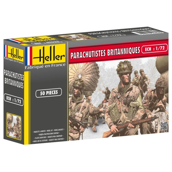 HELLER 49623 - WW2 British Parachutists