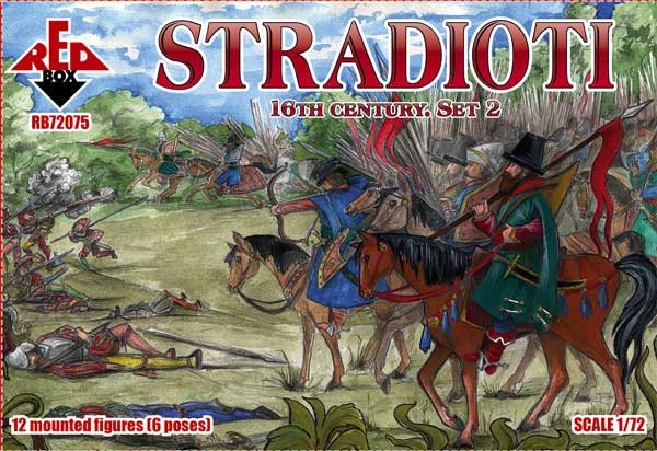 REDBOX 72075 Stradioti. 16th century. Set 2