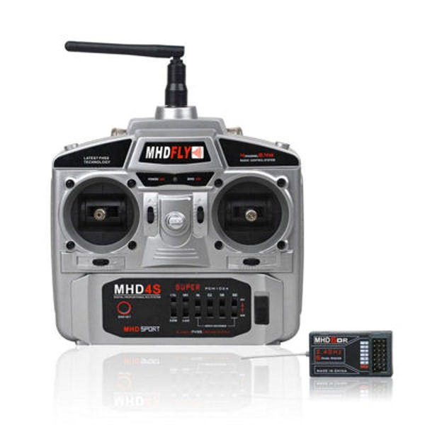 MHD RADIO 4 Voies 2.4Ghz FHSS