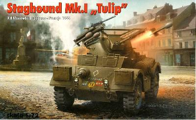 "RPM 72314  VEHICULE BLINDE STAGHOUND MK.I ""TULIP"""