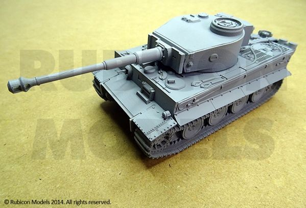 Rubicon Models RU005 Tiger I Ausf. E