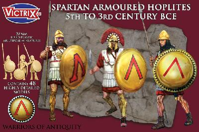 VICTRIX VXA002 HOPLITES LOURDS SPARTIATES Ve - IIIe SIECLES av. JC