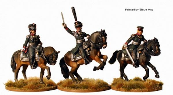 Perry Miniatures RN2 Mounted Field Officers métal