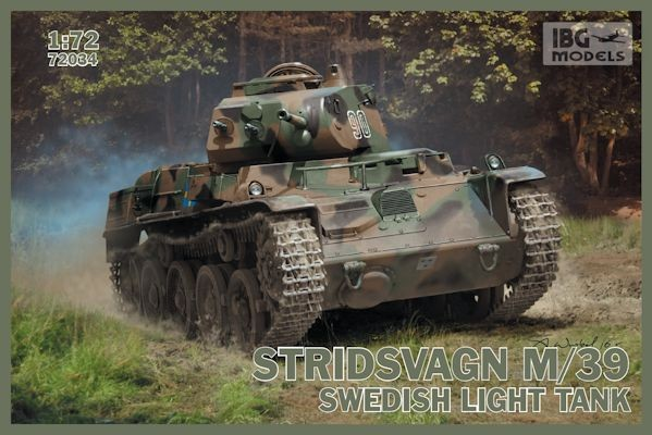 IBG 72034 Stridsvagn M/39 Swedish light tank