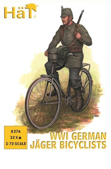 HAT 8276 Chasseur Allemand à bicyclette WWI